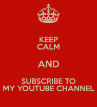 Subscribe To my Youtube Channel