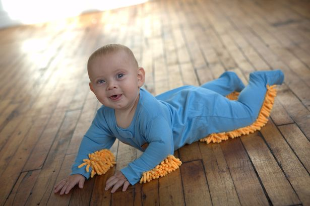 The baby mop